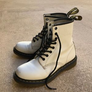 Dr. Martens Shoes - White Dr Martens